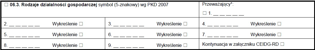 CEIDG-1 rubryka 06.03