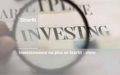 Inwestowanie na plus ze Starlit - złoto